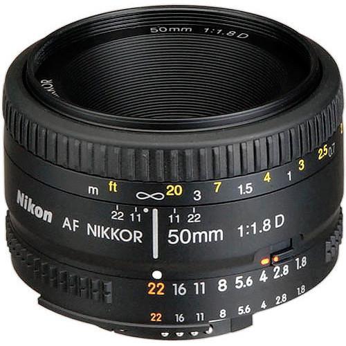 עדשה Nikon AF Nikkor 50mm f/1.8D