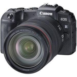 מצלמה ללא מראה Canon EOS RP +24-105 f/4 + מתאם EF-EOS R