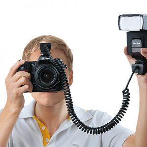 כבל מאריך לפלאש GODOX TL-S TTL Shoe Cord למצלמות Sony