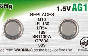 זוג סוללות LR1130