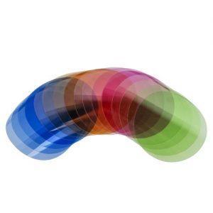סט פילטרים צבעוניים Godox v-11t color temperatue pack for v1& ad200pro
