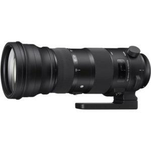 עדשה Sigma 150-600mm f/5-6.3 DG OS HSM Sports למצלמות Nikon