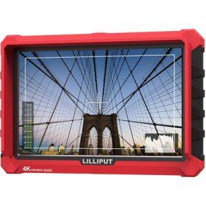 "מוניטור למצלמת סוני Lilliput 7"" 4K HDMI A7s"