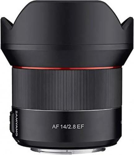 עדשה Samyang af 14mm f/2.8 ef למצלמות Canon