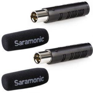 קיט מיקרופון Saramonic sr-axm3 2 xlr mic kit