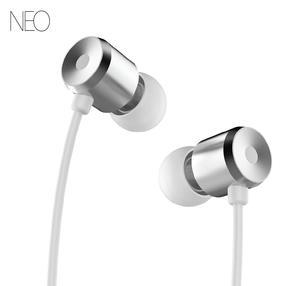 אוזניות NEO ALPHA In-Ear כסף