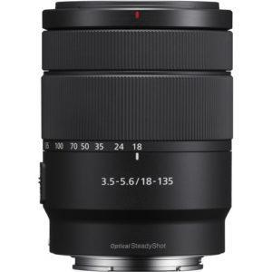 עדשה Sony E 18-135mm f/3.5-5.6 OSS