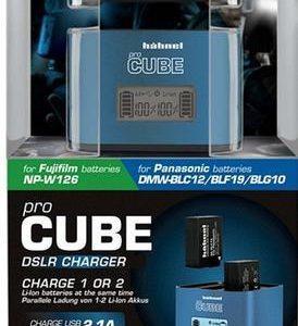 מטען אוניברסלי 2 Hahnel Pro CUBE לסוללות FujiFilm ו Panasonic