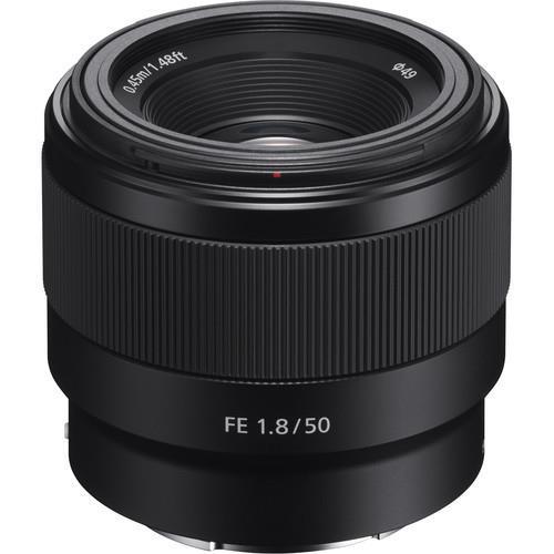 עדשה Sony FE 50mm f/1.8 Lens