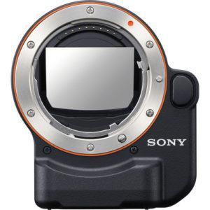מתאם עדשות Sony A-Mount to E-Mount lA-EA4 עם מראה שקופה