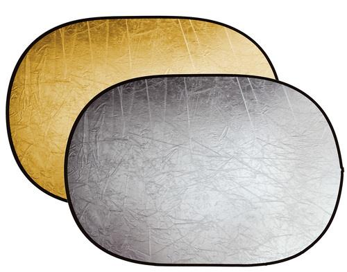 רפלקטור דו צדדי זהוב וכסוף 100X150 של StudioBlitz