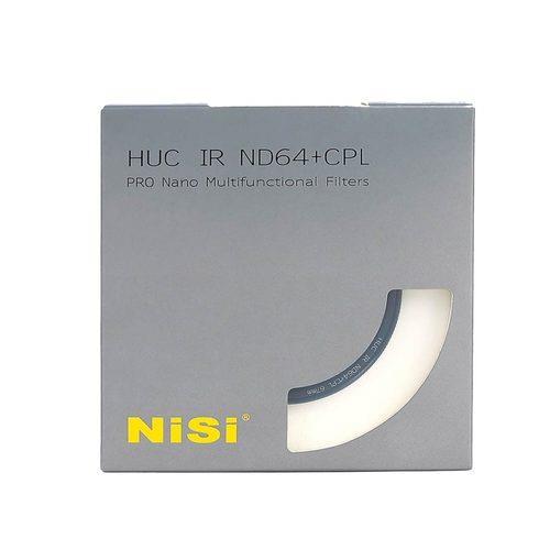 פילטר NiSi ND64 + CPL 82mm HUC PRO Nano IR Multifunctional