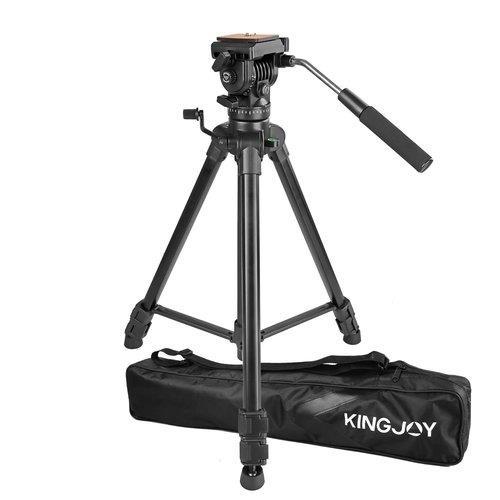 חצובת וידאו מקצועית Kingjoy VT1500