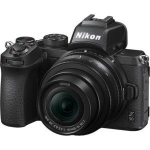 קיט מצלמה ללא מראה Nikon Z50 + 16-50mm