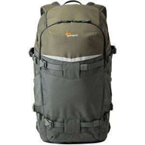 תיק צילום Lowepro Flipside Trek BP 450 AW Backpack Gray/Dark Green