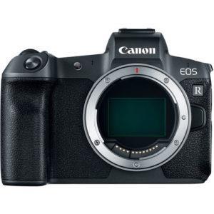 מצלמה ללא מראה Canon EOS R גוף בלבד כולל מתאם Canon Mount Adapter EF-EOS R