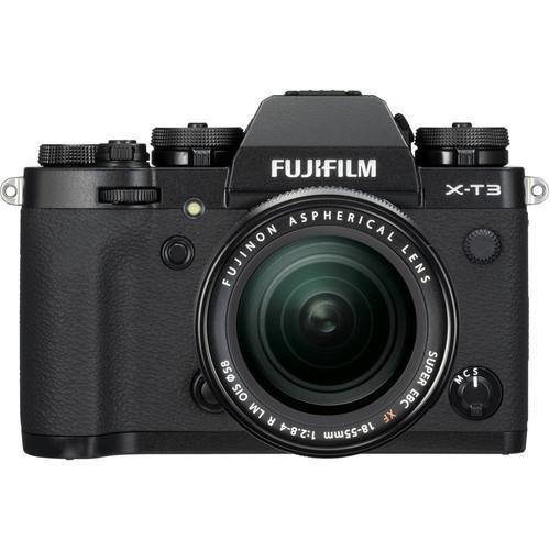 קיט מצלמה ללא מראה Fujifilm X-T3+18-55mm