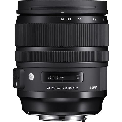עדשה Sigma 24-70mm f/2.8 DG OS HSM Art למצלמות Canon