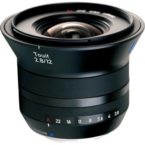 עדשה Zeiss Touit 12mm f/2.8 למצלמות Fuji X-Mount