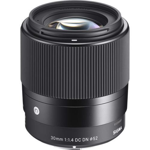 עדשה sigma 30 f/1.4 dc dn c למצלמות Sony