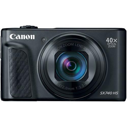מצלמה קומפקטית Canon PowerShot SX740 HS