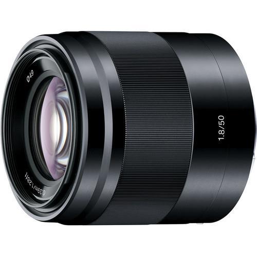 עדשה Sony E 50mm f/1.8 OSS