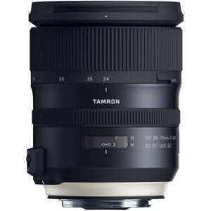 עדשה Tamron SP 24-70mm f/2.8 DI VC USD G2 למצלמות Canon