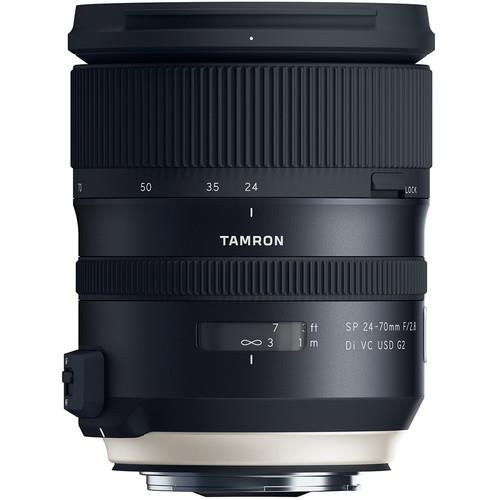 עדשה Tamron SP 24-70mm f/2.8 DI VC USD G2 למצלמות Canon