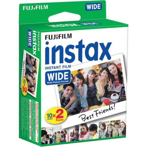 סרט צילום Fujifilm Instax Wide Instant Film Exposures