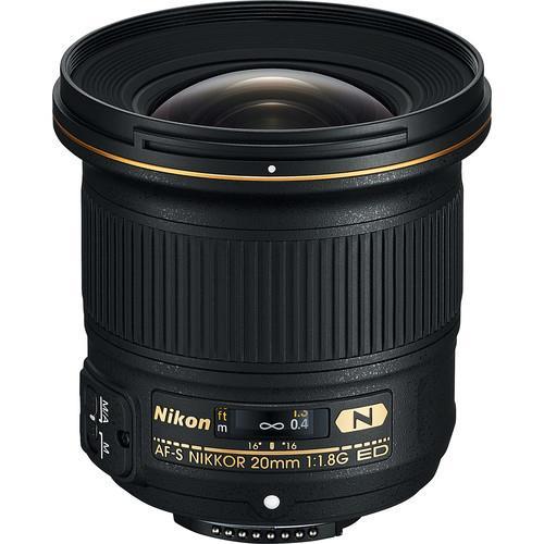 עדשה Nikon AF-S NIKKOR 20mm f/1.8G ED