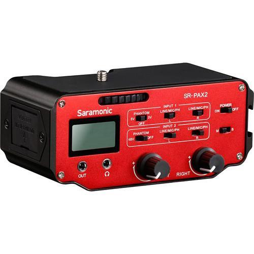 גריפ סאונד Saramonic SR-PAX2 Audio Adapter