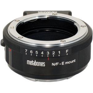 מתאם Metabones מעדשות Nikon G לחיבור Sony E-mount