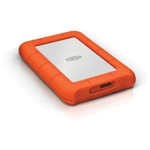 כונן קשיח חיצוני LaCie 2TB Rugged Mini Portable USB 3.0