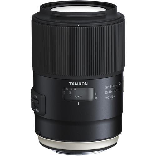 עדשה Tamron 90mm f/2.8 SP Di MACRO 1:1 VC USD למצלמות Canon
