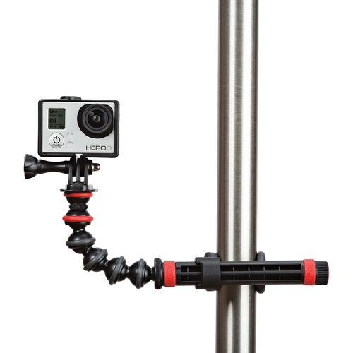 Joby Action Clamp with GorillaPod Arm מלחצים ומתאם גמיש למצלמות אקסטרים