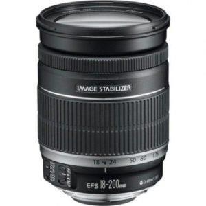 עדשה Canon EF-S 18-200mm f/3.5-5.6 IS