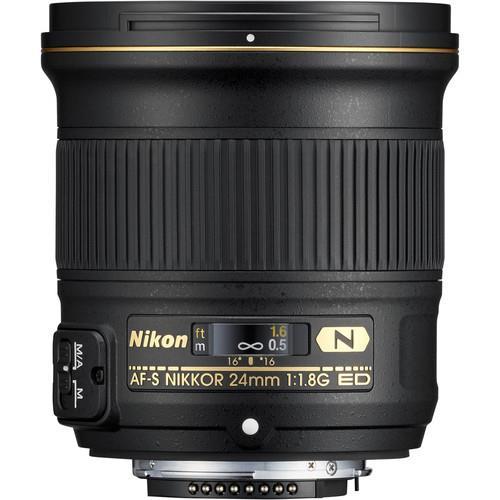 עדשה Nikon AF-S NIKKOR 24mm f/1.8G ED