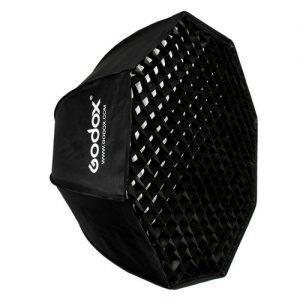 סופטבוקס מטריה אוקטגון Godox SB-UE80 עם גריד