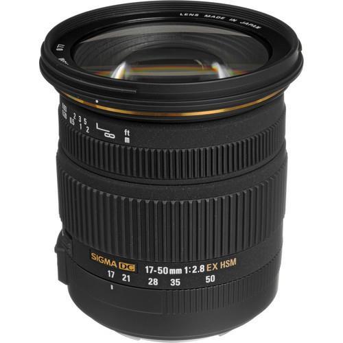עדשה Sigma 17-50mm f/2.8 EX DC OS HSM למצלמות Nikon