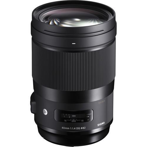 עדשה Sigma 40mm f/1.4 dg hsm art למצלמות Nikon