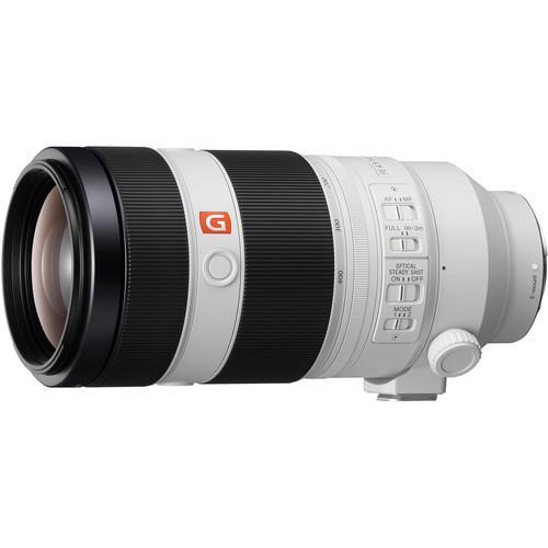 עדשה Sony FE 100-400mm f/4.5-5.6 GM OSS