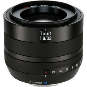 עדשה Zeiss Touit 32mm f/1.8 למצלמות Fuji X-Mount