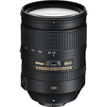 עדשה Nikon AF-S NIKKOR 28-300mm f/3.5-5.6G ED VR