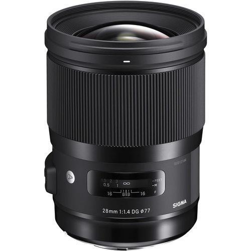 עדשה Sigma 28mm f/1.4 DG HSM Art Lens for Canon
