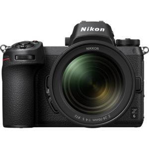 קיט מצלמה ללא מראה Nikon Z6 +24-70mm +FTZ