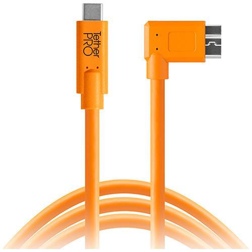 כבל Tether Tools TetherPro USB Type-C to Right Micro-USB a 4.6m