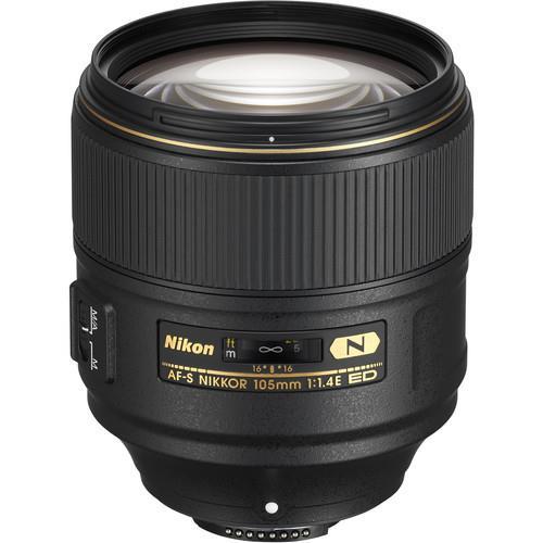 עדשה Nikon AF-S NIKKOR 105mm f/1.4E ED
