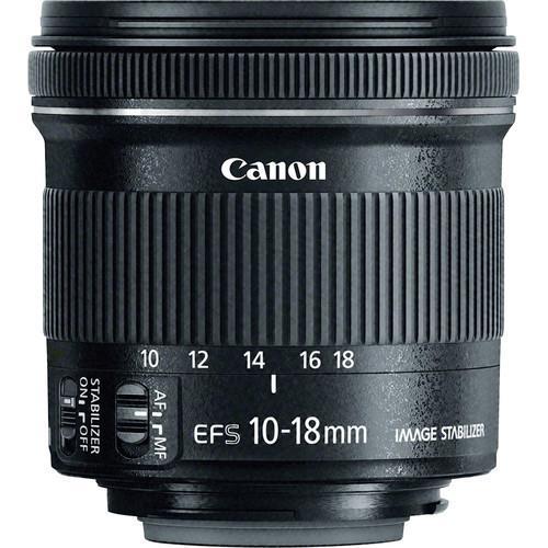 עדשה Canon EF-S 10-18mm f/4.5-5.6 IS STM