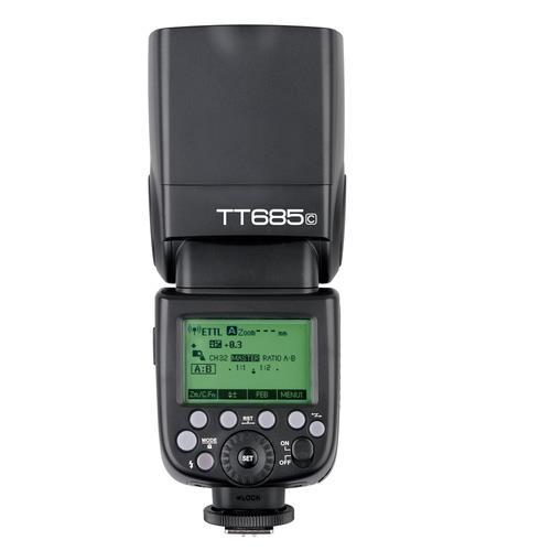 פלאש Godox TT685C למצלמות Canon