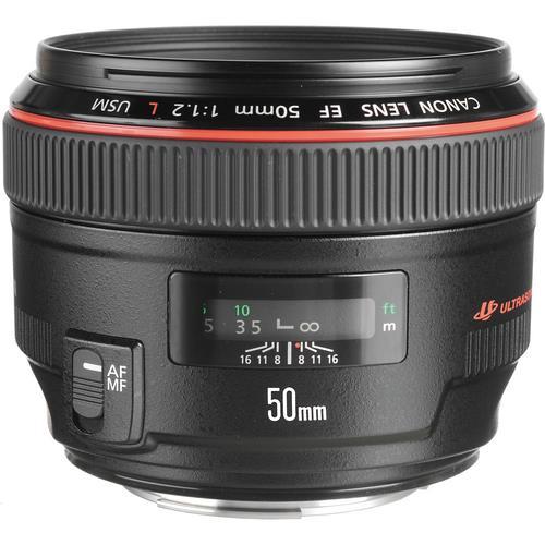 עדשה Canon EF 50mm f/1.2L USM